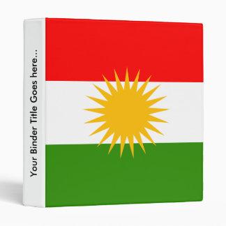 Kurdistan High quality Flag Binders