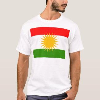 Kurdistan High quality Flag T-Shirt