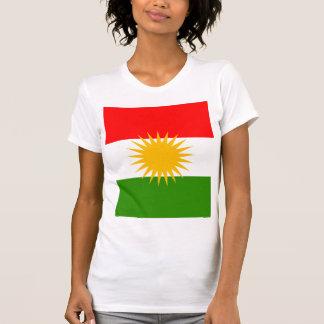 Kurdistan High quality Flag Tshirt