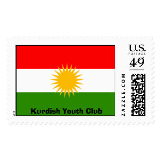 kurdistan, Kurdish Youth Club Postage