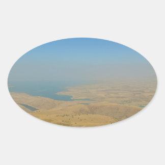 Kurdistan, Lake  Dukan Oval Sticker
