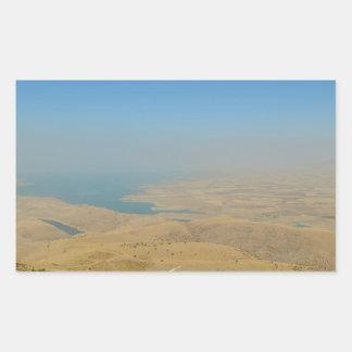 Kurdistan, Lake  Dukan Rectangular Sticker