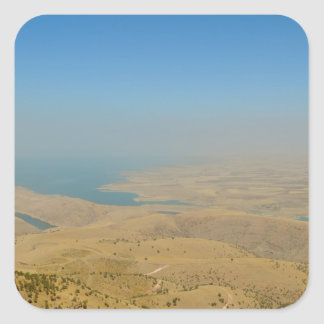 Kurdistan, Lake  Dukan Square Sticker