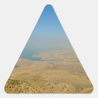 Kurdistan, Lake  Dukan Triangle Sticker