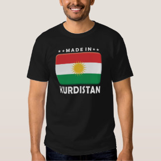 Kurdistan Made Tee Shirt
