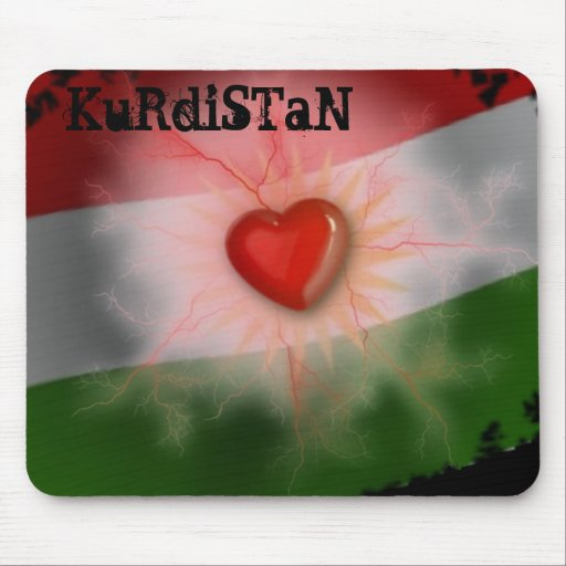 Kurdistan Mousepad - Customized