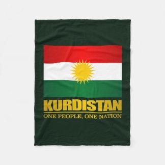 Kurdistan (One People, One Nation) Fleece Blanket