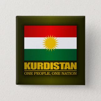 Kurdistan (One People, One Nation) Pinback Button