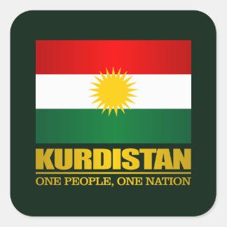 Kurdistan (One People, One Nation) Square Sticker