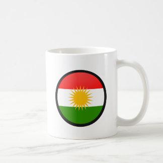Kurdistan quality Flag Circle Classic White Coffee Mug