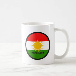 Kurdistan Roundel quality Flag Classic White Coffee Mug