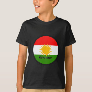 Kurdistan Roundel quality Flag T-Shirt