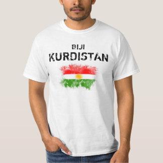 "Kurdistan T-shirt with ""Biji Kurdistan """