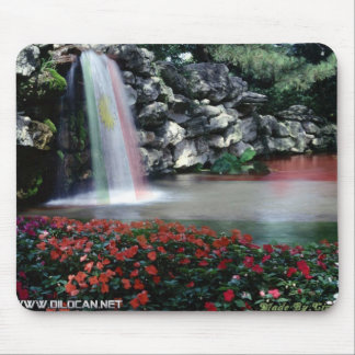kurdistan waterfall mouse pad