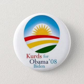 Kurds for Obama Button
