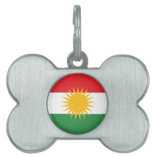 Kurds have No Friends But Mountains FREE KURDISTAN Pet Name Tags