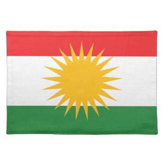 Kurds have No Friends But Mountains FREE KURDISTAN Placemats