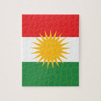 Kurds have No Friends But Mountains FREE KURDISTAN Puzzle