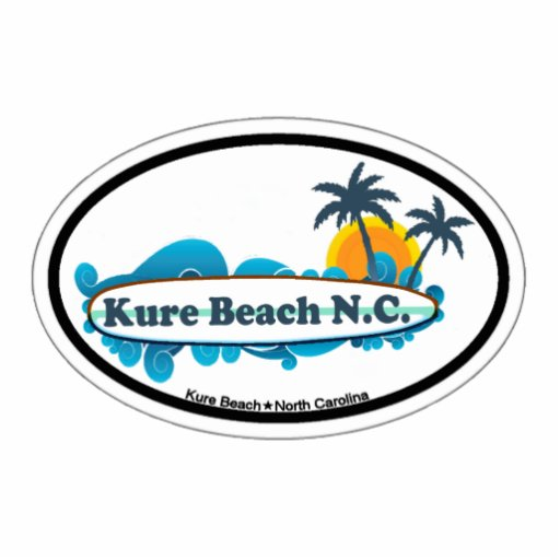 Kure Beach. Acrylic Cut Out