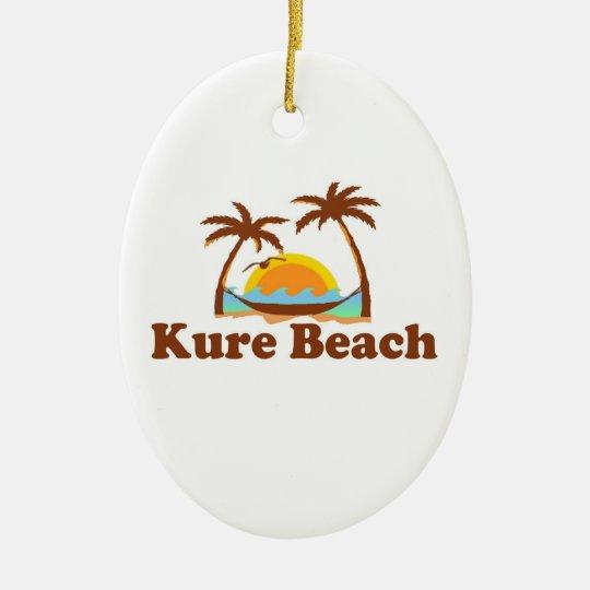 Kure Beach. Ceramic Ornament