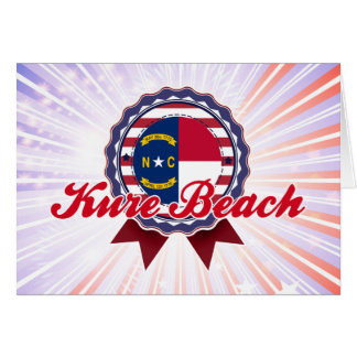 Kure Beach, NC Greeting Card