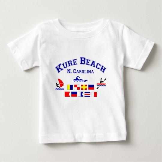 Kure Beach NC Signal Flags Baby T-Shirt