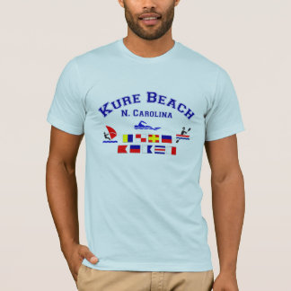 Kure Beach NC Signal Flags T-Shirt