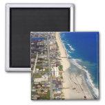 Kure Beach North Carolina 2 Inch Square Magnet