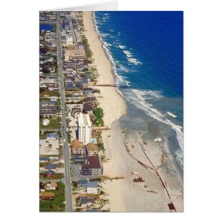 Kure Beach North Carolina Greeting Card