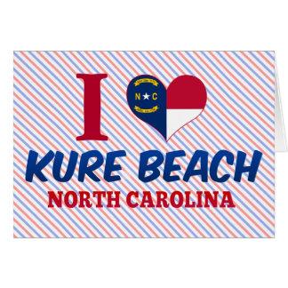 Kure Beach, North Carolina Greeting Card