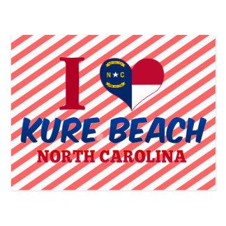 Kure Beach, North Carolina Postcard