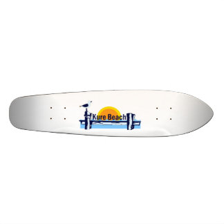 Kure Beach. Skateboard Deck
