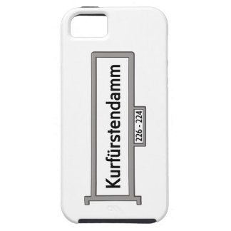 Kurfürstendamm, placa de calle de Berlín iPhone 5 Protector