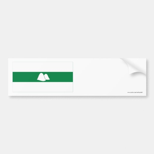 Kurgan Oblast Flag Bumper Stickers