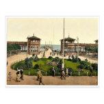 Kurgarten & Landungsbrucke, Zoppot, East Prussia, Post Cards