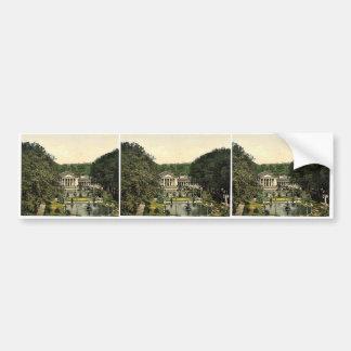 Kurhaus and surroundings, Wiesbaden, Hesse-Nassau, Bumper Sticker