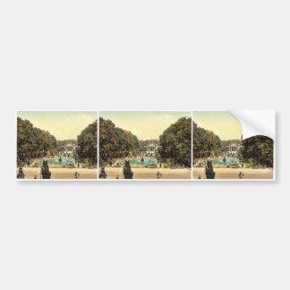 Kurhaus, Wiesbaden, Hesse-Nassau, Germany magnific Bumper Sticker