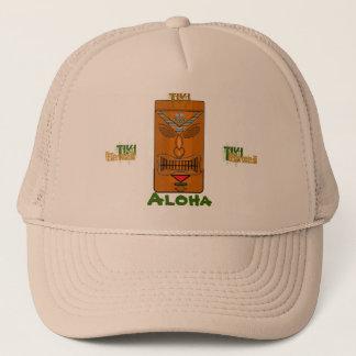 Kuri Hawaii Aloha Tiki Tiki Trucker Hat