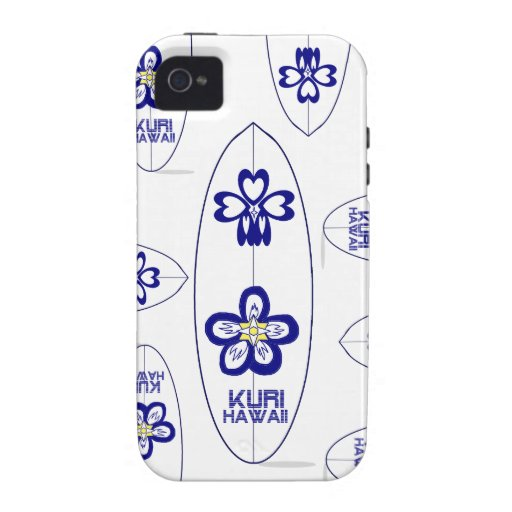 Kuri Hawaii  SURF Vibe iPhone 4 Cover