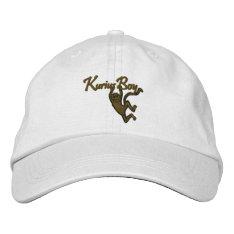 Kurius Boy Adjustable Embroidery Hat at Zazzle