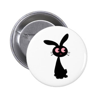 Kuro Bunny I Button