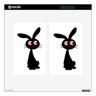 Kuro Bunny I Decals For Kindle Fire
