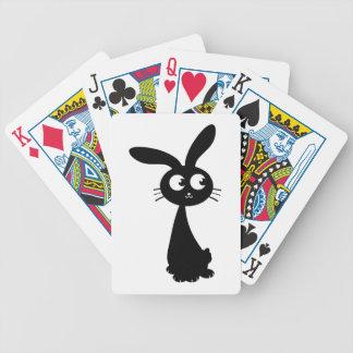 Kuro Bunny II Bicycle Playing Cards