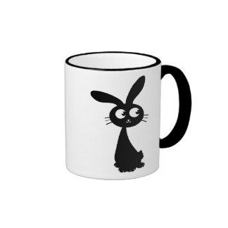Kuro Bunny II Ringer Coffee Mug