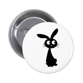 Kuro Bunny II Pinback Button