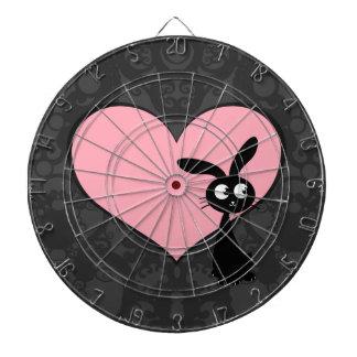 Kuro Bunny Love IV Dartboard With Darts
