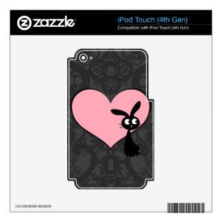 Kuro Bunny Love IV iPod Touch 4G Decal