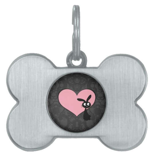 Kuro Bunny Love IV Pet Name Tag