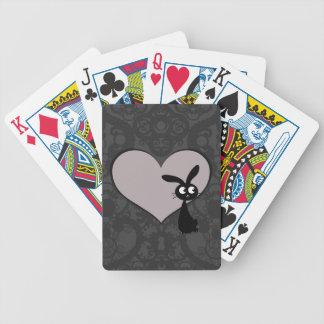 Kuro bunny Love V Bicycle Playing Cards
