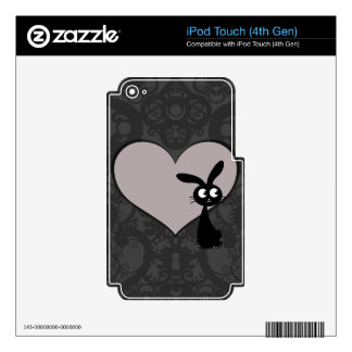 Kuro bunny Love V iPod Touch 4G Decals